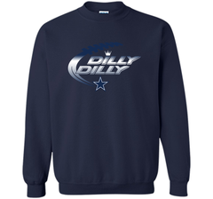 Dilly Dilly Dallas Cowboys T-Shirt Dallas Cowboys Dilly Dilly NFL Football Gift for Fans Crewneck Pullover Sweatshirt 8 oz - PresentTees
