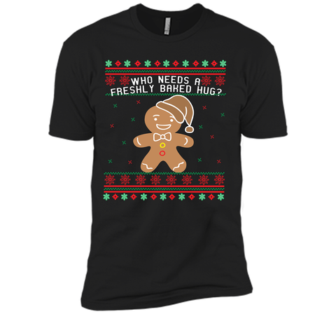 GINGERBREAD funny christmas shirt  Black / Small Next Level Premium Short Sleeve Tee - PresentTees