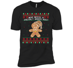 GINGERBREAD funny christmas shirt  Next Level Premium Short Sleeve Tee - PresentTees