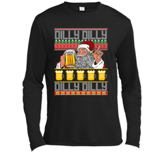 dilly dilly christmas sweater ugly t shirt ls moisture absorbing shirt presenttees