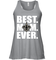 Best New Orleans Saints Mom Ever NFL Team Mother's Day Gift Women's Racerback Tank Women's Racerback Tank - PresentTees