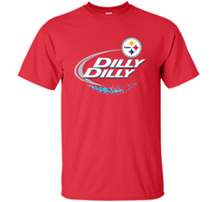 Pittsburgh Steelers Dilly Dilly T-Shirt NFL Football Gift Fans Custom Ultra Cotton Tshirt - PresentTees