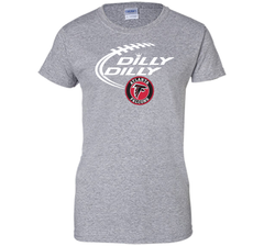 DILLY DILLY Atlanta Falcons shirt Ladies Custom - PresentTees