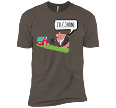 Shane Dawson I will go home Next Level Premium Short Sleeve Tee - PresentTees