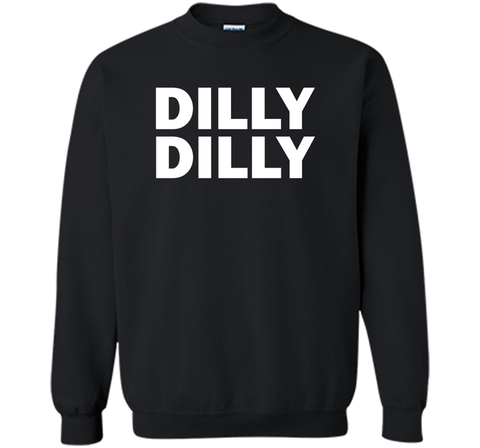 Bud light Dilly Dilly T-Shirt Black / Small Crewneck Pullover Sweatshirt 8 oz - PresentTees