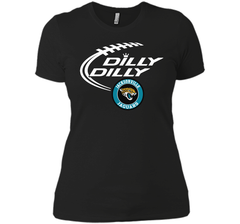 DILLY DILLY Jacksonville Jaguars shirt Next Level Ladies Boyfriend Tee - PresentTees