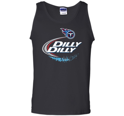 Tennessee Titans Dilly Dilly T-Shirt NFL Football Gift for Fans Black / Small Tank Top - PresentTees