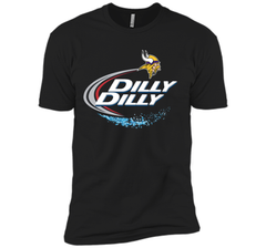 Vikings Dilly Dilly T-Shirt Minnesota Vikings NFL Football Gift Fans Next Level Premium Short Sleeve Tee - PresentTees