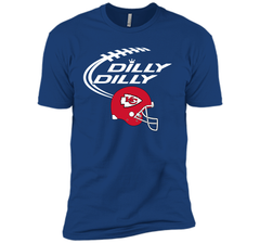 DILLY DILLY Kansas City Chiefs NFL Team Logo Next Level Premium Short Sleeve Tee - PresentTees