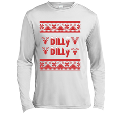 Dilly Dilly Funny Beer Christmas Ugly Sweater T Shirt LS Moisture Absorbing Shirt - PresentTees