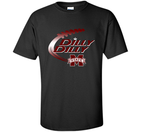 Dilly Dilly Mississippi State T-Shirt Black / Small Custom Ultra Cotton Tshirt - PresentTees