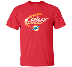 Miami Dolphins MIA Dilly Dilly Bud Light T Shirt NFL Football Gift for Fans Custom Ultra Cotton Tshirt - PresentTees
