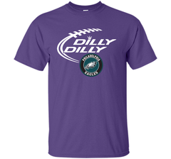 DILLY DILLY Philadelphia Eagles shirt Custom Ultra Cotton Tshirt - PresentTees