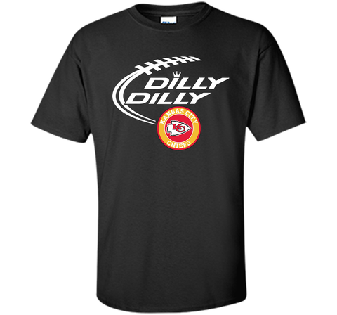 DILLY DILLY Kansas city Chiefs shirt Black / Small Custom Ultra Cotton Tshirt - PresentTees