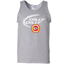 DILLY DILLY Kansas city Chiefs shirt Tank Top - PresentTees