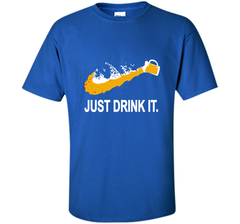 Bud Light Dilly Dilly Nike Love Just Drink It Shirt Custom Ultra Cotton Tshirt - PresentTees