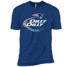New England Patriots Dilly Dilly T-Shirt NFL Football Gift Fans Next Level Premium Short Sleeve Tee - PresentTees