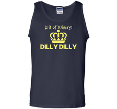 Bud Light Pit of Misery Dilly Dilly T Shirt Tank Top - PresentTees