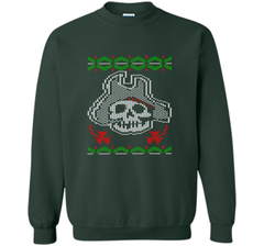 Pirate Christmas Ugly Sweater T-Shirt Crewneck Pullover Sweatshirt 8 oz - PresentTees