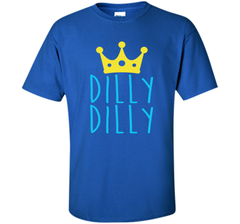 Bud Light Dilly Dilly Crown T-Shirt Custom Ultra Cotton Tshirt - PresentTees