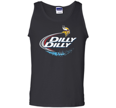 Vikings Dilly Dilly T-Shirt Minnesota Vikings NFL Football Gift Fans Tank Top - PresentTees