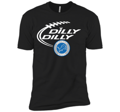 DILLY DILLY Destroit Lions shirt Next Level Premium Short Sleeve Tee - PresentTees
