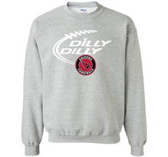 DILLY DILLY Arizona Cardinals shirt Crewneck Pullover Sweatshirt 8 oz - PresentTees