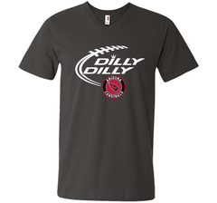 DILLY DILLY Arizona Cardinals shirt Men Printed V-Neck Tee - PresentTees