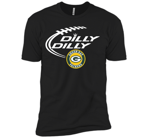 DILLY DILLY  Green Bay Packers shirt Black / Small Next Level Premium Short Sleeve Tee - PresentTees