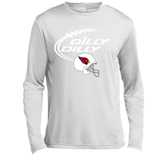 DILLY DILLY Arizona Cardinals NFL Team Logo LS Moisture Absorbing Shirt - PresentTees
