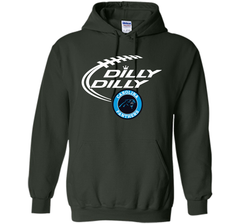 DILLY DILLY Carolina Panthers shirt Pullover Hoodie 8 oz - PresentTees