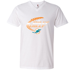 Miami Dolphins MIA Dilly Dilly Bud Light T Shirt NFL Football Gift for Fans Men Printed V-Neck Tee - PresentTees