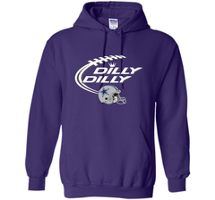 Dilly Dilly Dallas Cowboy Logo American Football Team Bud Light Christmas T-Shirt Pullover Hoodie 8 oz - PresentTees
