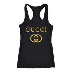 Gucci Logo Vintage Inspired Women's Tank Top T-shirt - PresentTees