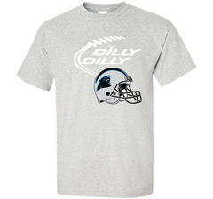 DILLY DILLY Carolina Panthers NFL Team Logo Custom Ultra Cotton Tshirt - PresentTees