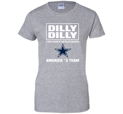 Bud Light Dilly Dilly! A True Friend Of The Dallas Cowboys Shirts Ladies Custom - PresentTees