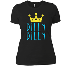 Bud Light Dilly Dilly Crown T-Shirt Next Level Ladies Boyfriend Tee - PresentTees