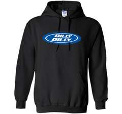 Bud Light Dilly Dilly Oval Blue Shirt Pullover Hoodie 8 oz - PresentTees