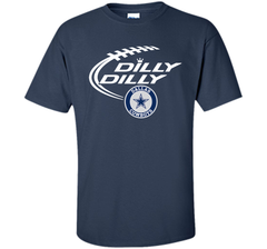 DILLY DILLY  Dallas Cowboys shirt Custom Ultra Cotton Tshirt - PresentTees