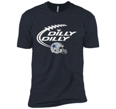 Dilly Dilly Dallas Cowboy Logo American Football Team Bud Light Christmas T-Shirt Next Level Premium Short Sleeve Tee - PresentTees