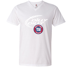 DILLY DILLY New York Giants shirt Men Printed V-Neck Tee - PresentTees