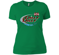 Dilly Dilly Mississippi State Logo American Team Bud Light T-Shirt Next Level Ladies Boyfriend Tee - PresentTees