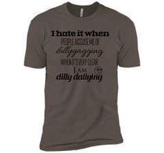 Lollygagging Dilly Dilly T Shirt Next Level Premium Short Sleeve Tee - PresentTees