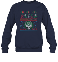 New York Jets Christmas Grateful Dead Jingle Bears Football Ugly Sweatshirt Adult Unisex Crewneck Sweatshirt