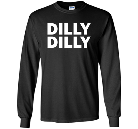 Bud light Dilly Dilly T-Shirt Black / Small LS Ultra Cotton TShirt - PresentTees