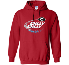 Dilly Dilly Georgia Bulldogs T-Shirt Georgia Bulldog Football Gift for Fans Pullover Hoodie 8 oz - PresentTees