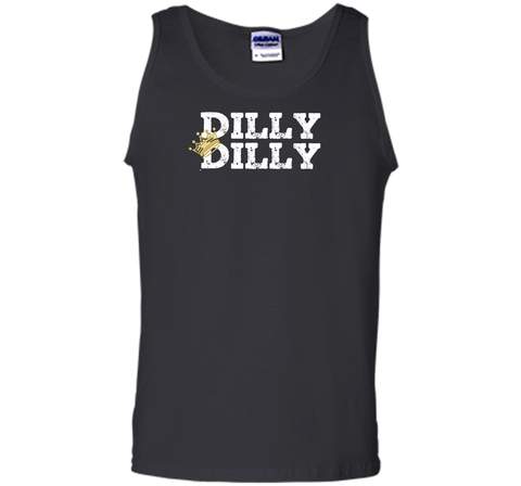Dilly Dilly Crown Football T Shirt Black / Small Tank Top - PresentTees