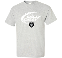 Oakland Raiders Dilly Dilly T Shirt OAK NFL Football Gift for Fans Custom Ultra Cotton Tshirt - PresentTees
