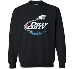 Philadelphia Eagles Dilly Dilly T-Shirt NFL Football Gift Fans Crewneck Pullover Sweatshirt 8 oz - PresentTees