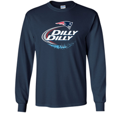 New England Patriots Dilly Dilly T-Shirt NFL Football Gift Fans LS Ultra Cotton TShirt - PresentTees